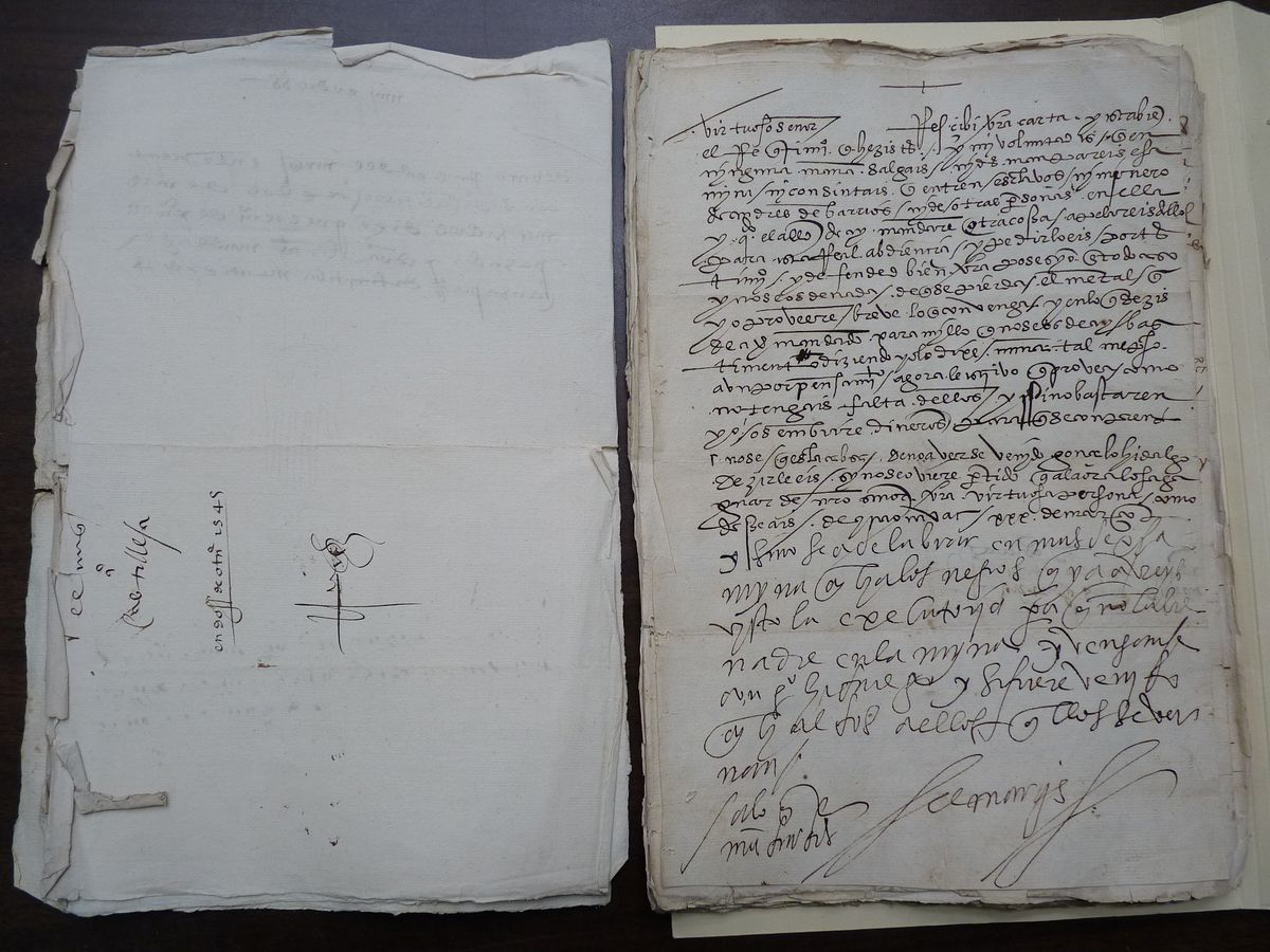 Cortes letter